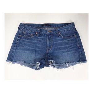 J Brand Cut Off Libra Denim Shorts Size 28